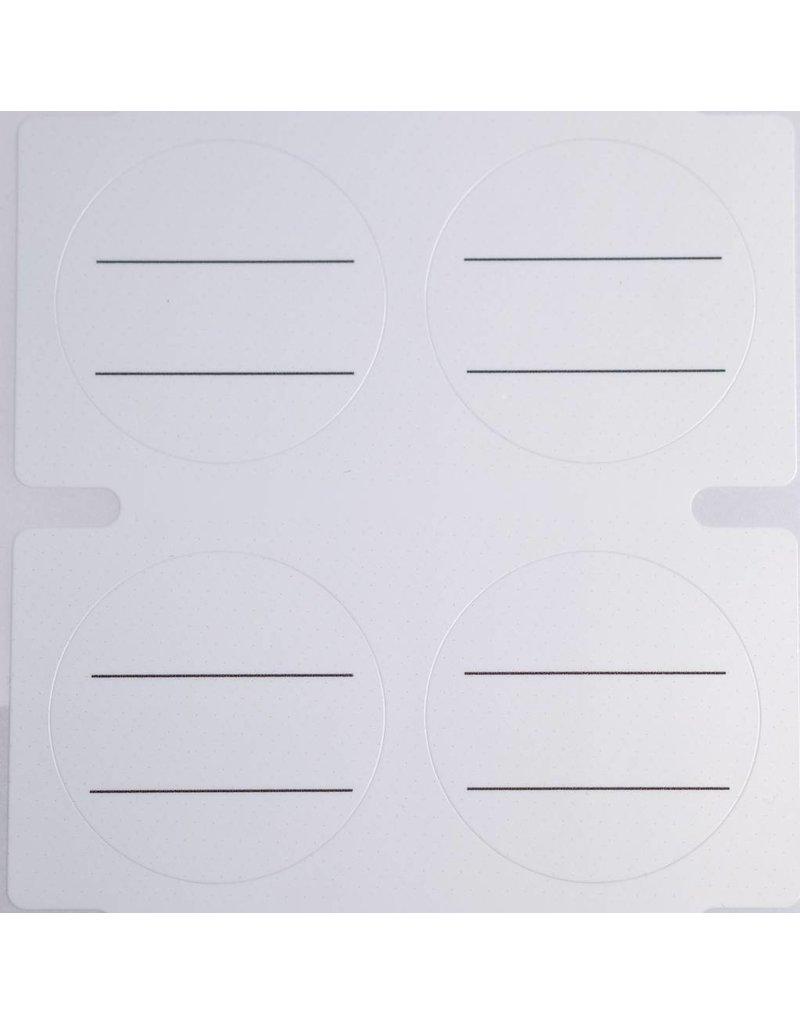 MPK Nails® Deckeletikett zum Selbstbeschriften - Neutral
