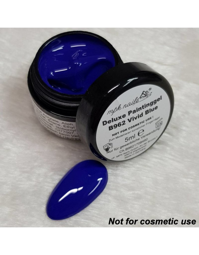 MPK Nails® Deluxe UV-Painting Gel 5ml B962 Vivid Blue