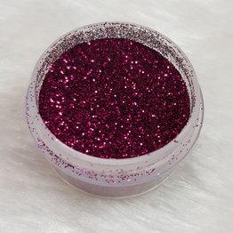 Glitterstaub 14 Burgunder