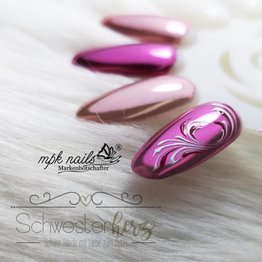 MPK Nails® Chrome Pigment Pretty Pink