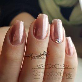 MPK Nails® Chrome Pigment Ballet Slipper