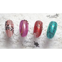 MPK Nails® Precious Xtreme Spider Gel Red