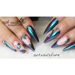 MPK Nails® FlipFlop PigmentGreen Purple