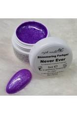 Shimmering Farbgel Never Ever