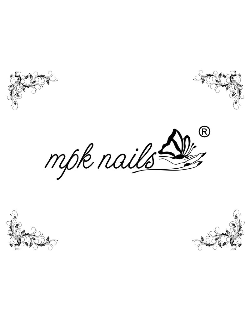 MPK Nails® Arbeitsunterlage mit MPK-Logo