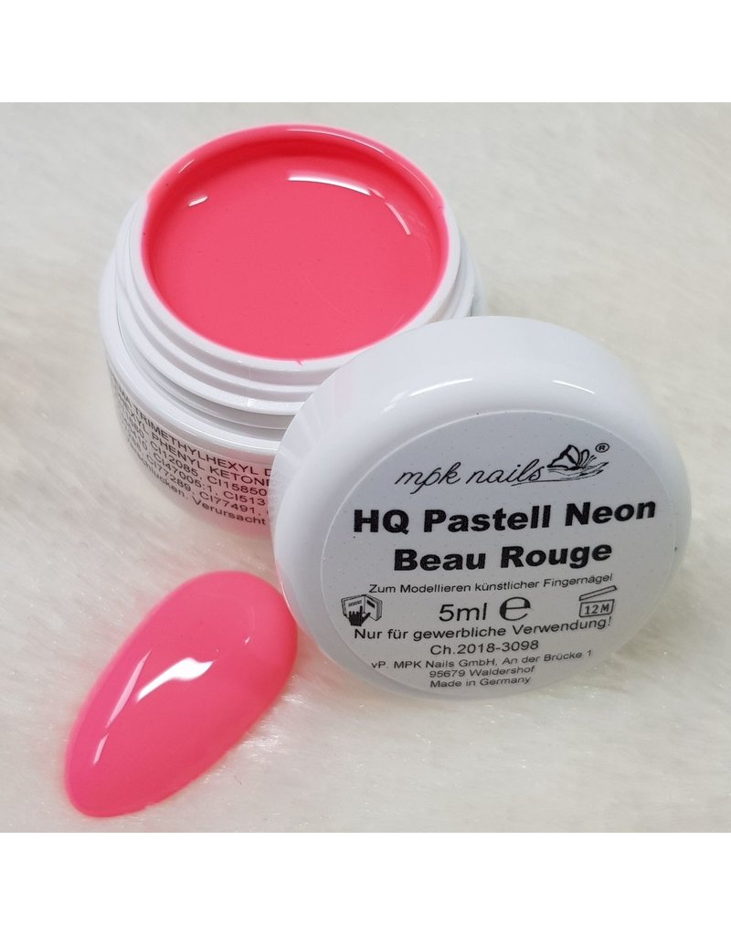 MPK Nails® 7x High Quality Farbgel Pastell Neon im Set
