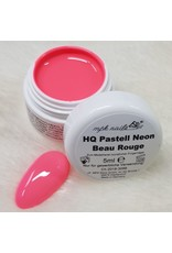 High Quality Farbgel Pastell Neon 5ml Beau Rouge