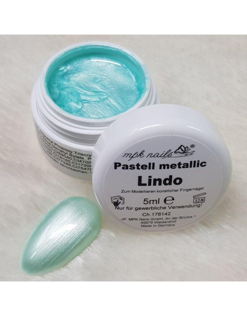 Farbgel Pastell Metallic 5ml Lindo
