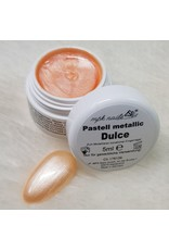 MPK Nails® 7x Farbgel Pastell Metallic im Set