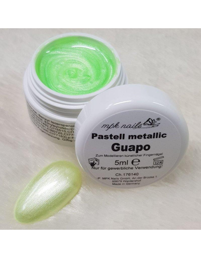 7x Farbgel Pastell Metallic im Set