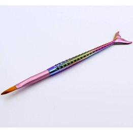 MPK Nails® Gel- und Acrylpinsel  Größe 6 mit Meerjungfrauen-Stiel
