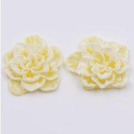 2x Silikon Flowers yellow