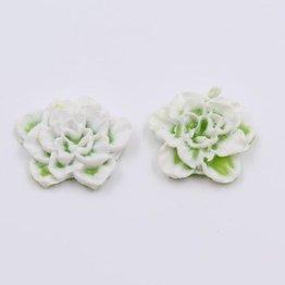 MPK Nails® 2x Silikon Flowers green