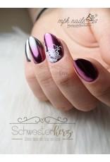 MPK Nails® Finest Chrome Pigment Shining Silver