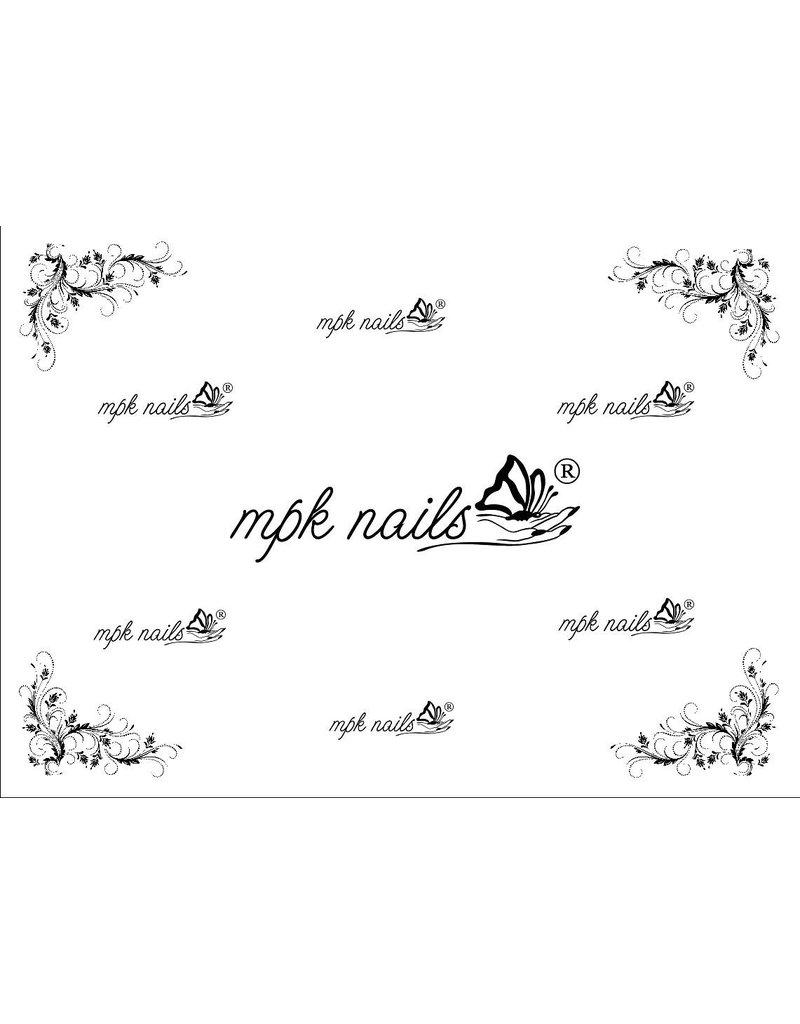 MPK Nails® Arbeitsunterlage mit MPK-Logo 2.0