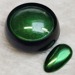 MPK Nails® Finest Chrome Pigment Great Green