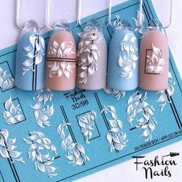 Fashion Nails Nail Wraps 3D