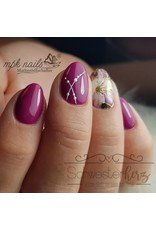 Nail Wraps metallic m76