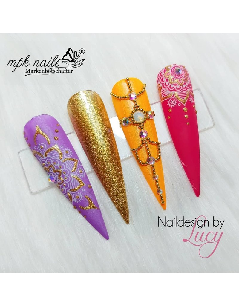Precious by MPK Nails® Precious Farbgel Papaya Pearl