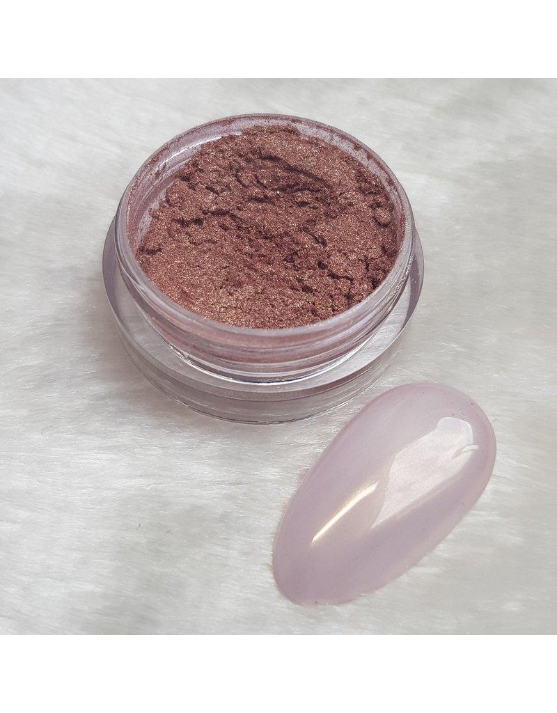 MPK Nails® Pearl Pigment Brownie