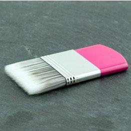 MPK Nails® Staubpinsel pink, vegan aus Synthetikhaar