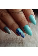 Ink Nail Color Blue Sky