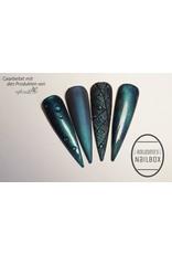 Precious by MPK Nails® 5D Cat Eye Farbgel Enigmatic Turquoise semi-opak