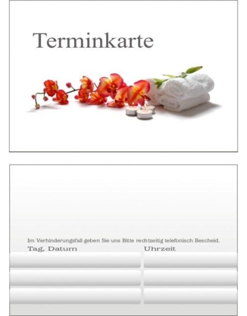 MPK Nails® 25x Terminkarte