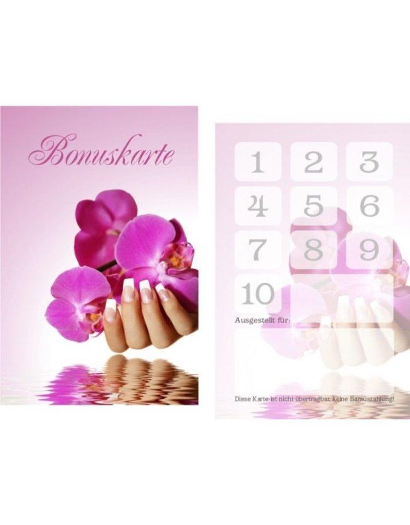 MPK Nails® 25x Bonuskarte / Treuekarte