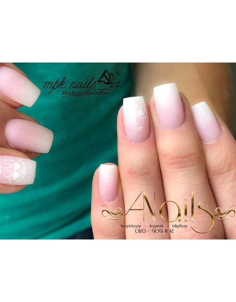 MPK Nails® Acrylpuder Weiß