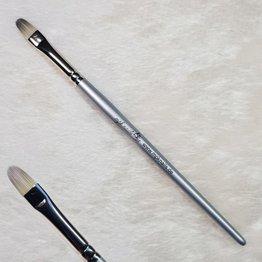 MPK Nails® Gelpinsel Fullcover, Größe 8, Silber