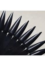 Nail Art Präsentations Fächer Stiletto schwarz