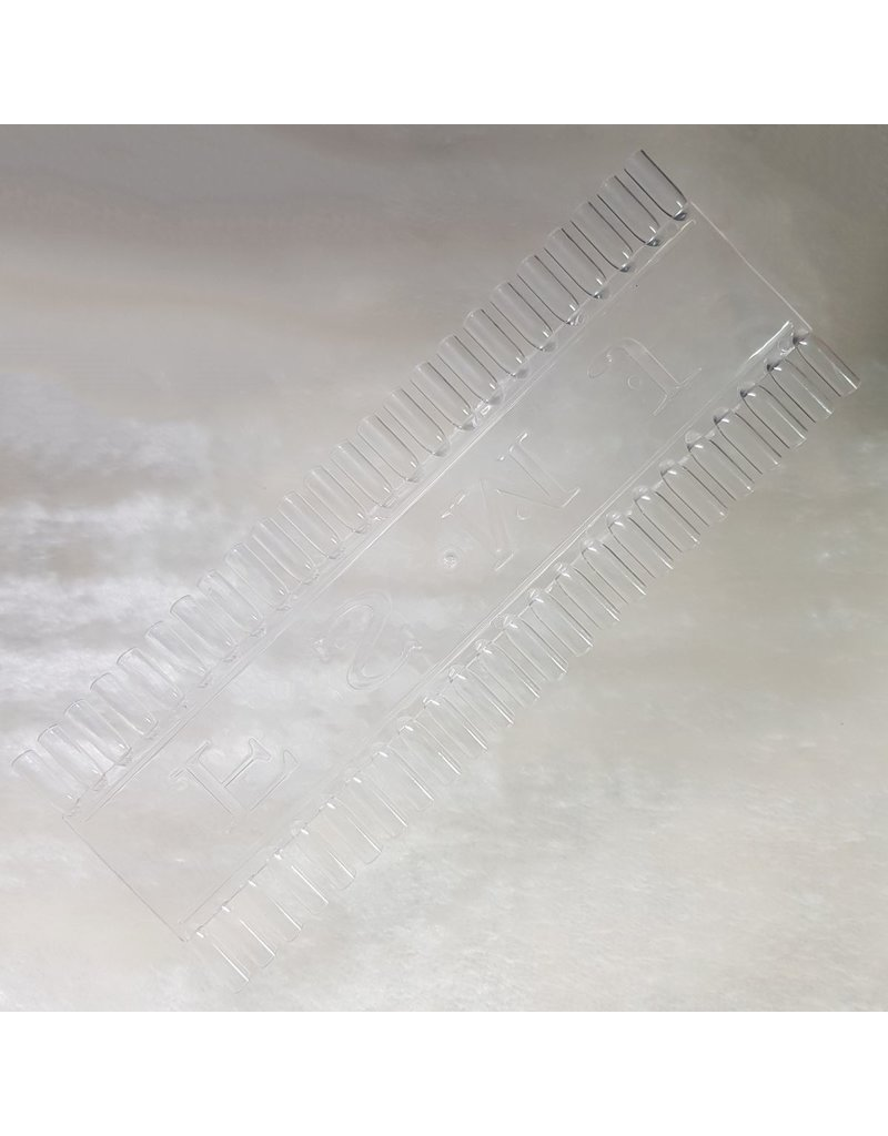 MPK Nails® Nail Art Präsentations Display lang, klar