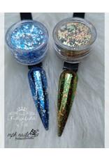 MPK Nails® Chrome Flakes Silver Sea