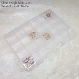 MPK Nails® Leere Aufbewahrungsbox, 24 Fächer