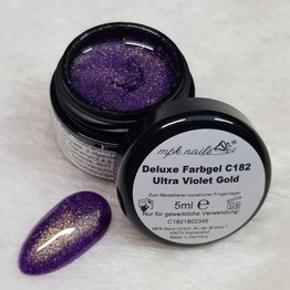 "Deluxe Farbgel ""C182 Ultra Violet Gold"" 5ml - Limited Edition"