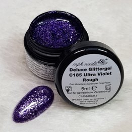 "Deluxe Glittergel ""C185 Ultra Violet Rough"" 5ml - Limited Edition"
