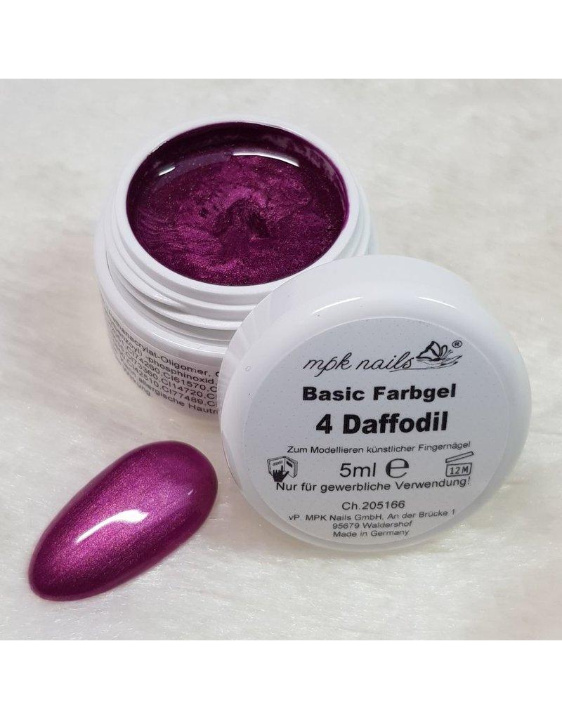 MPK Nails® Basic Farbgel 04 Daffodil