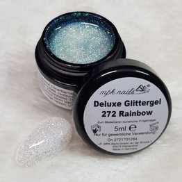 MPK Nails® Deluxe Glittergel 272 RAINBOW