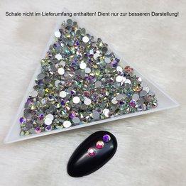 1400x Luminous Stars Strass Incredibile 3,1mm
