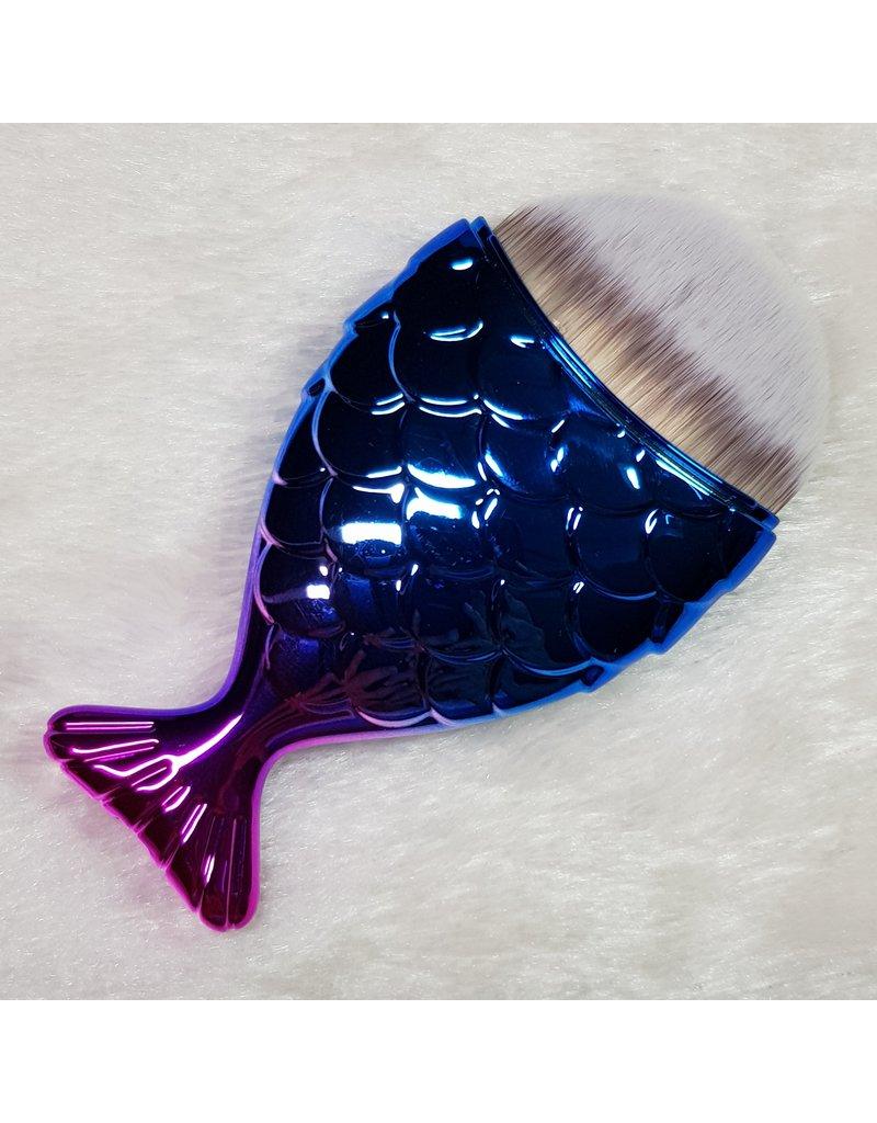 Staubpinsel Fisch metallic