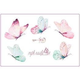 MPK Nails® Arbeitsunterlage Schmetterlinge