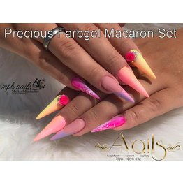 Precious by MPK Nails® Precious Farbgel Macaron Set