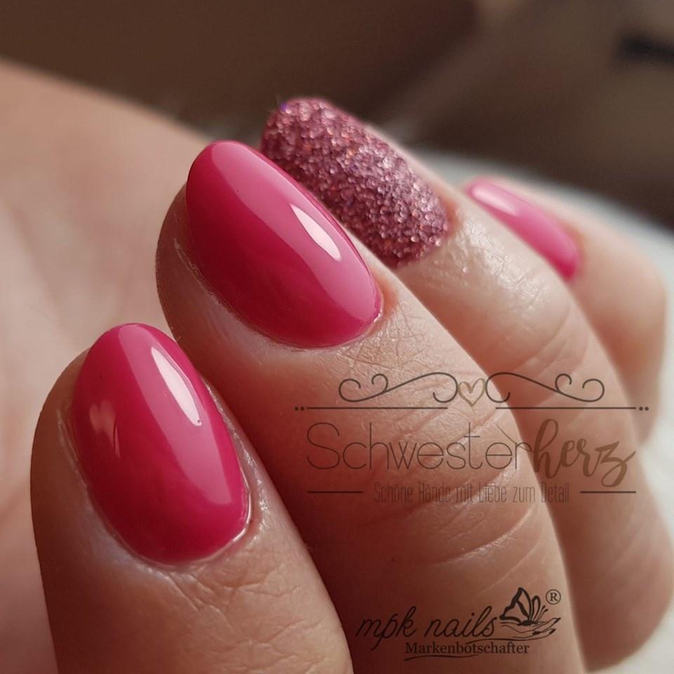 Ein Mädchentraum mit Pink und Glitter