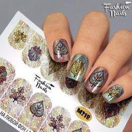 Fashion Nails Nail Wraps metallic