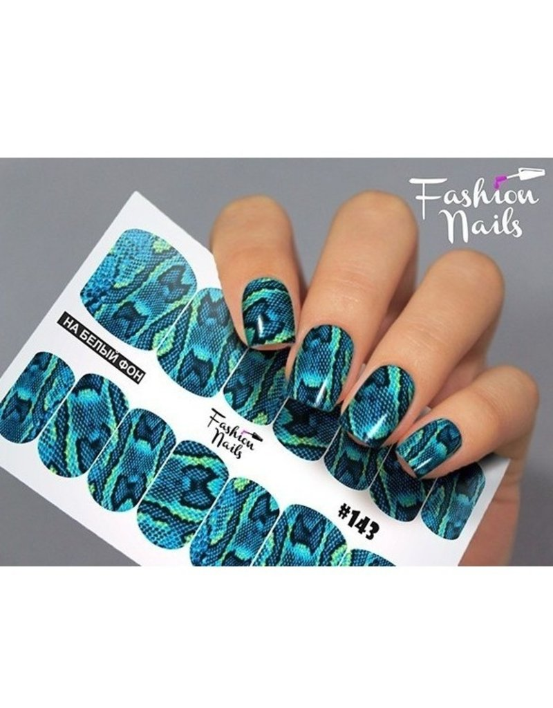 Fashion Nails Nail Wraps Design