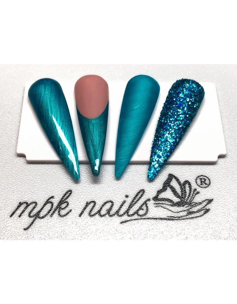MPK Nails® 10ml Gel-Polish 17 - Pearly Petrol