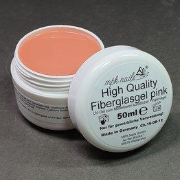MPK Nails® HQ Fiberglasgel klar und pink