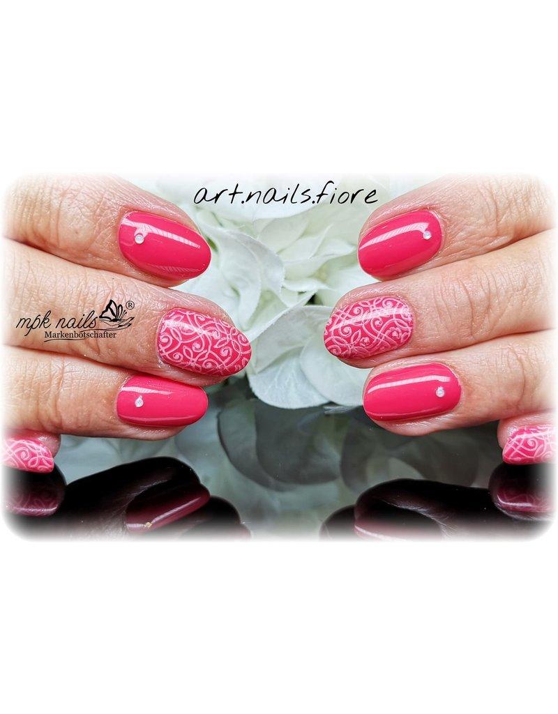 MPK Nails® Stampinglack 10ml 10 Rosa