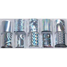 MPK Nails® 10x Nailart Transfer Folie in Box #17